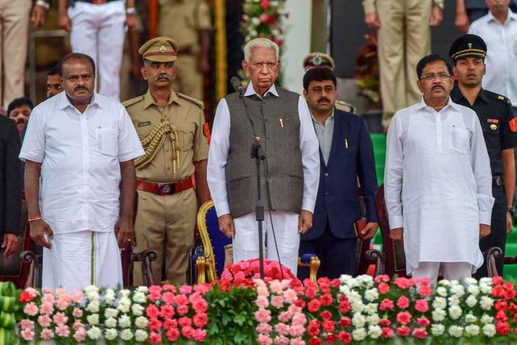 Karnataka swearing-in ceremony