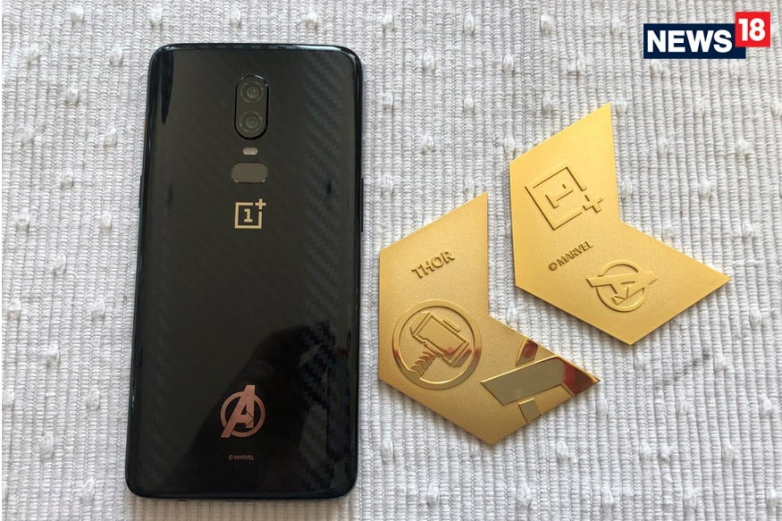 newest d2d31 e367c OnePlus 6 Avengers Infinity War Edition In Pictures: A Treat For ...