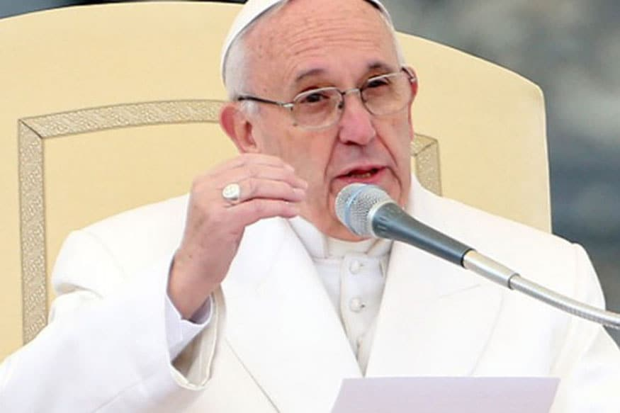 Pope francis speech on homosexuality