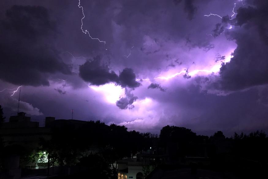 Four Killed in Incidents of Lightning Strike in Chhattisgarh