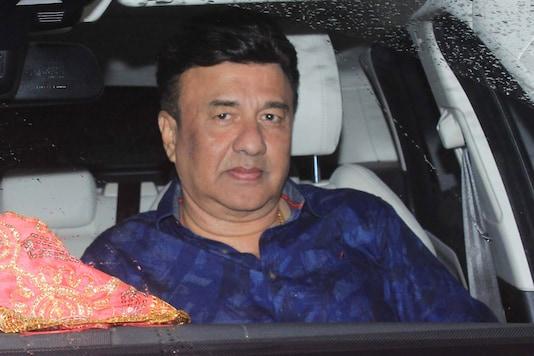 Anu Malik arrives at the special screening of 'Sanju' in Mumbai. (Image: Viral Bhayani)