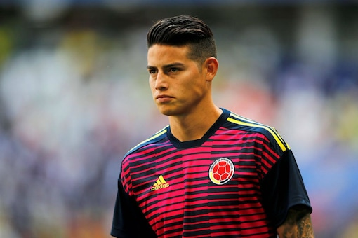 FIFA World Cup 2018: James Rodriguez Likely to Start for Colombia Against Poland
