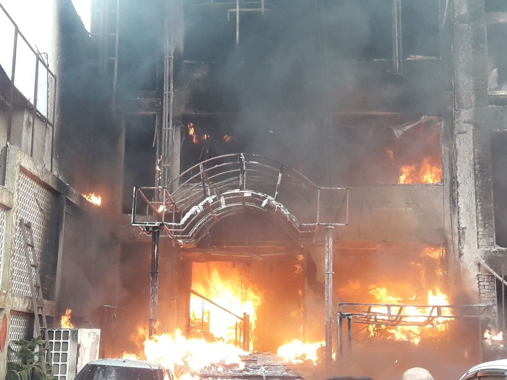 Hotel-Lucknow-Fire