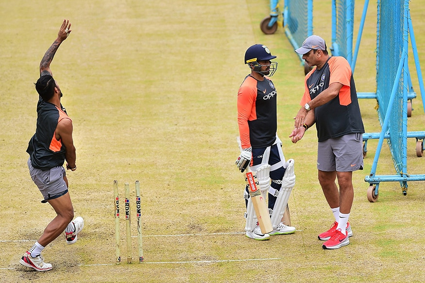 India vs Afghanistan: Cricketers Sweat it Out Ahead of Maiden Test