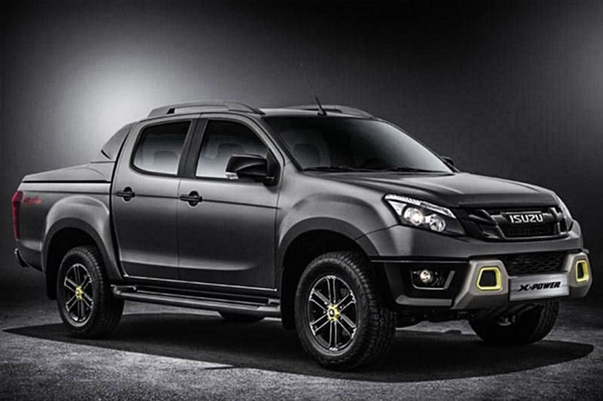 Isuzu D-Max X-Power Version Unveiled, Gets Black And