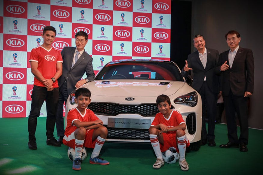 Interview: Sunil Chhetri & Manohar Bhat (KIA Motors) on FIFA World Cup 2018, OMBC