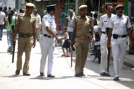 Kolkata Police  Image for representation.
