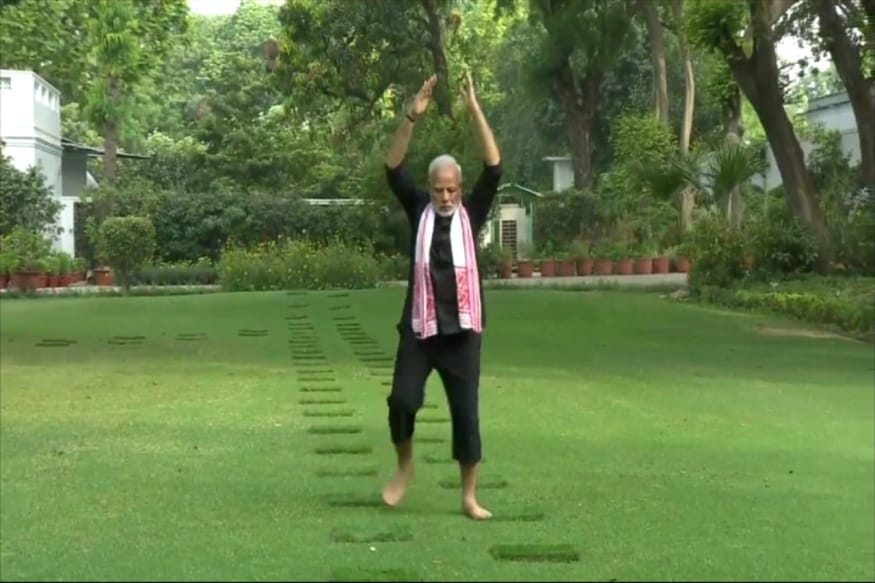 As Modi Launches Fit India Movement, a Peek at His Fitness Secrets