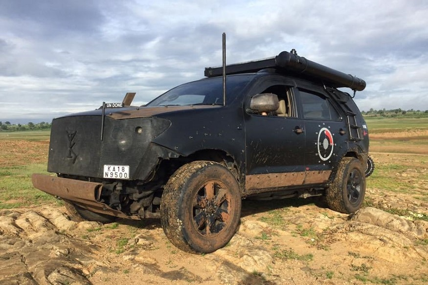 Modified Toyota Fortuner