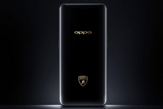 Oppo Find X Lamborghini Edition has been launched. (Image: Oppo)