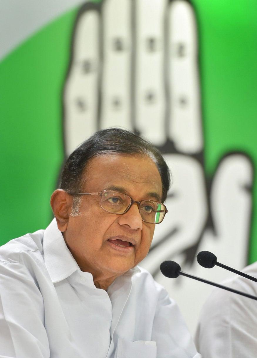 Chidambaram Slams Yogi Govt for FIR Against Journalist, Calls it Suppression of Media