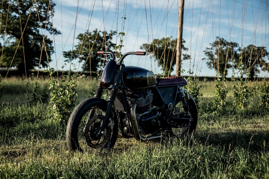 The 'Interceptor' – By Old Empire Motorcycles. 9Image: Royal Enfield)