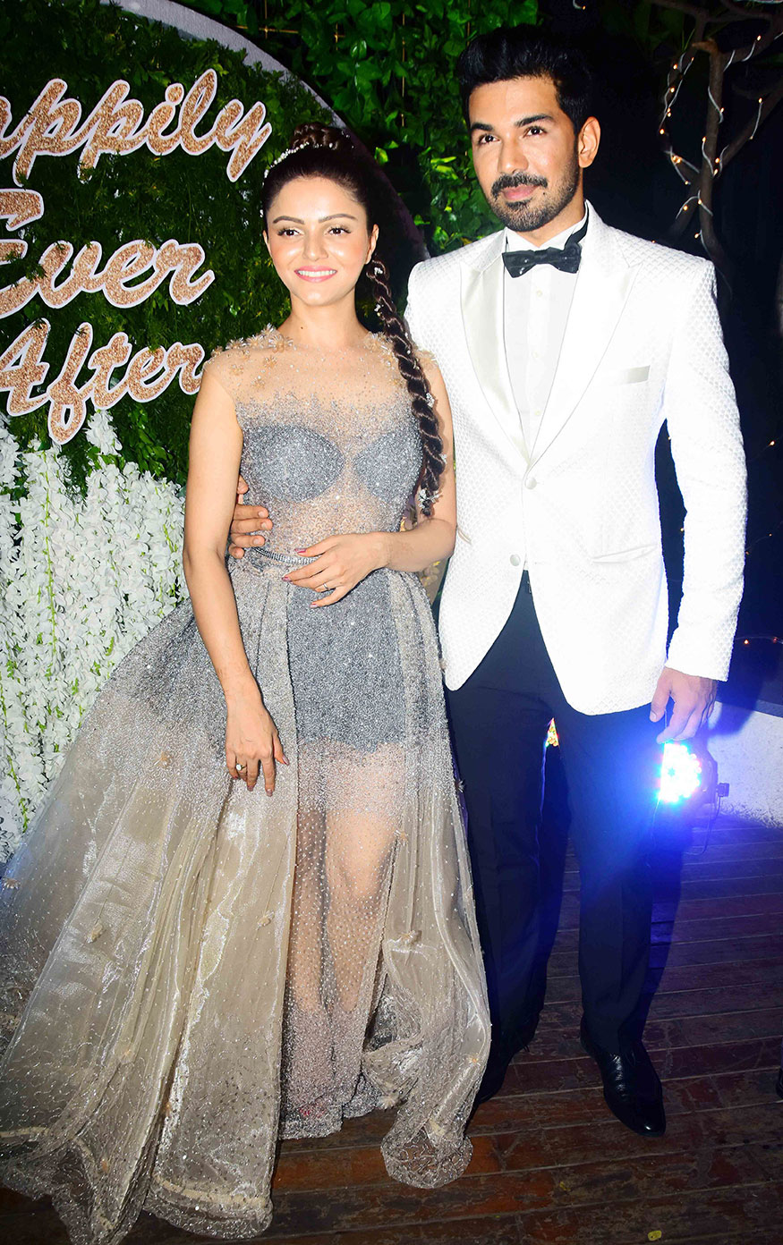 Pics Rubina Dilaik And Abhinav Shukla S Wedding Reception Photogallery
