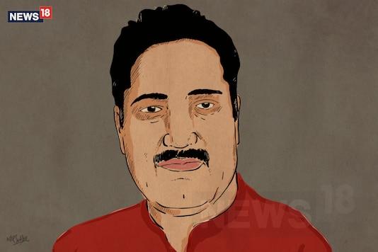 Slain journalist Shujaat Bukhari. (News18 Creative by Mir Suhail)