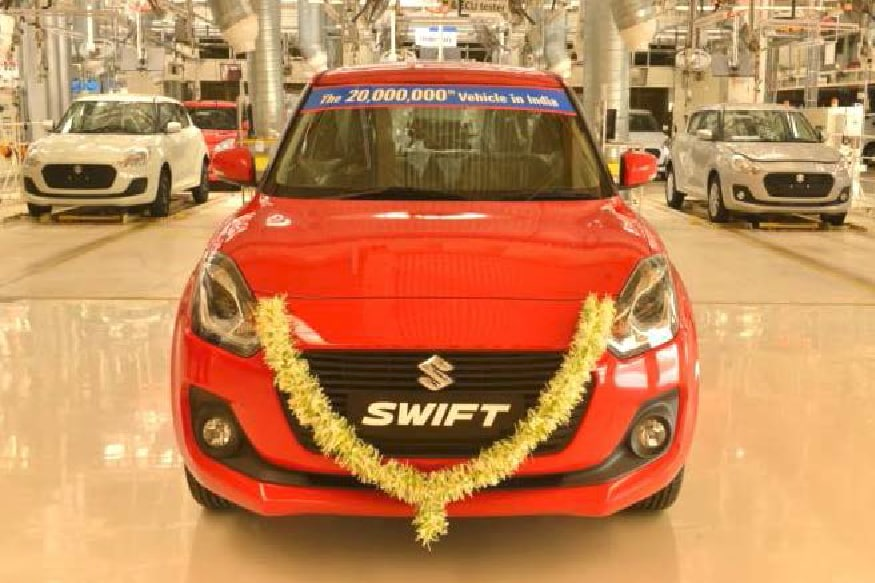 Maruti Suzuki Swift Launched With BS-VI Spec Petrol Engine