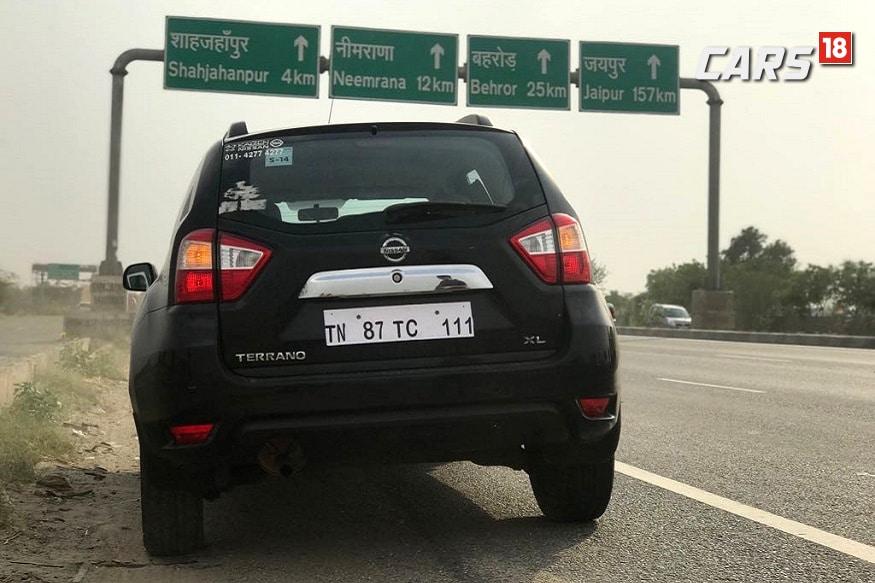 Nissan Terrano. (Image: Ayushmann Chawla/News18.com)