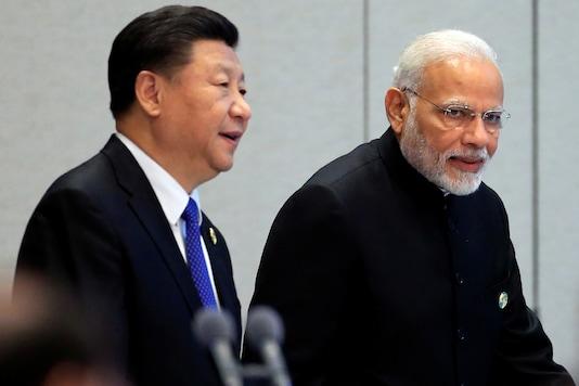 China's President Xi Jinping and Prime Minister Narendra Modi. (File photo: Reuters)