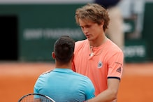 French Open: Zverev Saves Match Point Against Dzumhur to Reach Last 16