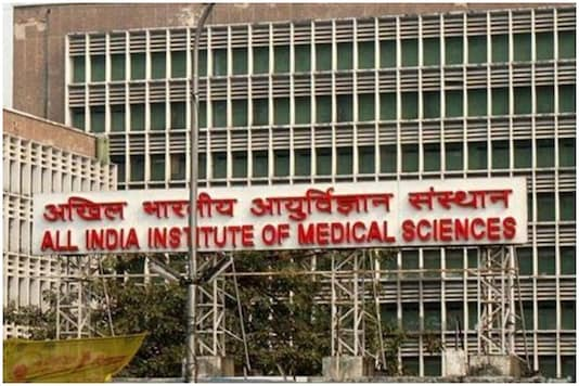 File photo of All India Institute of Medical Sciences building. (PTI Photo)