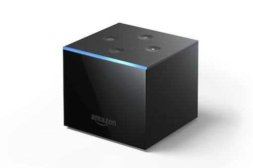 Amazon Unveils Almost Hands-Free Streaming TV Device Fire TV Cube (image: AP)