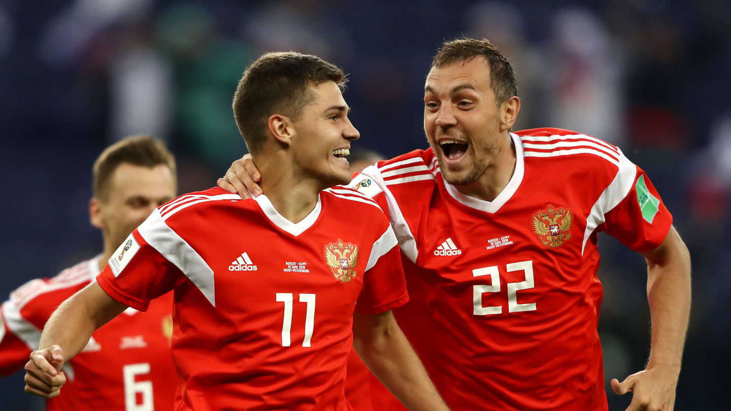 Russian Federation 3 - 1 Egypt | 19 Jun 2018