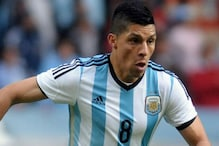 Argentina Name Midfielder Enzo Perez as Lanzini's Replacement