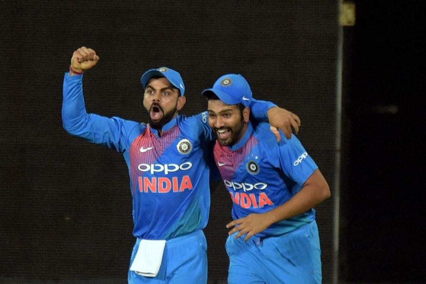 Virat Kohli and Rohit Sharma. (Photo Credit: Twitter)