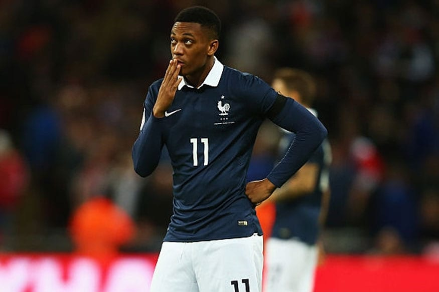 Martial had a topsy-turvy season with Manchester United and that led to him failing to make it to the France squad for the World Cup (Getty Images)
