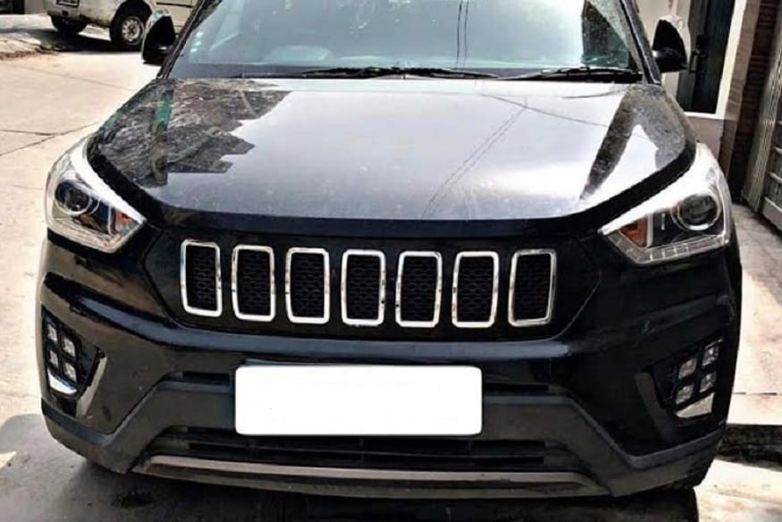 Hyundai Creta modified a Jeep Compass. (Image: Facebook.com/Sipl Automotives)