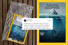 Spot The Irony: National Geographic Magazine Delivered Its 'Planet or Plastic?' Edition in Two Layers of Plastic