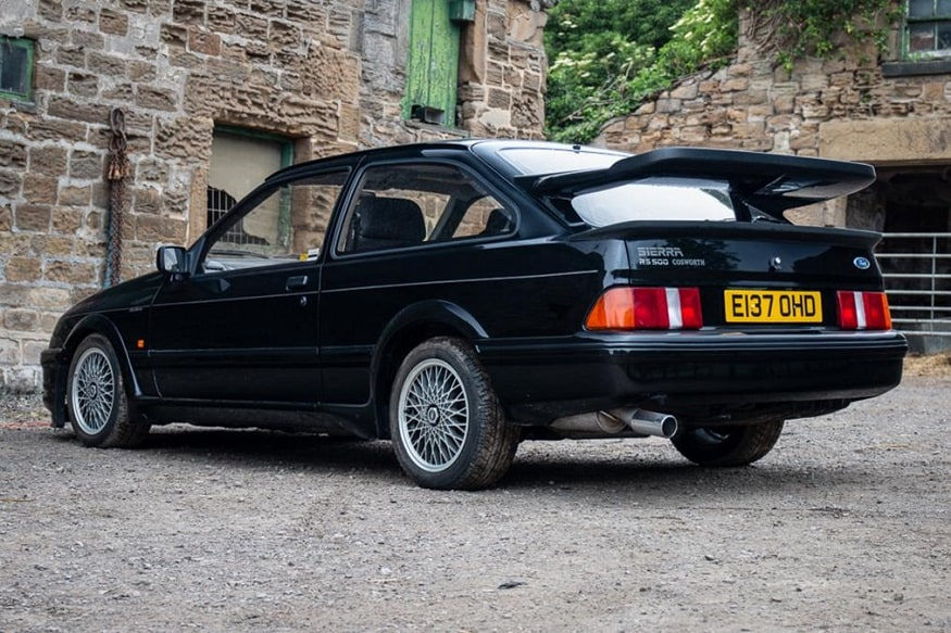 1987 Ford Sierra Cosworth RS500. (Image: AFP Relaxnews)