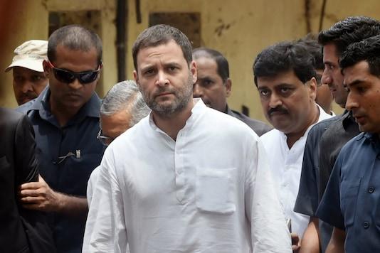 File photo of Congress president Rahul Gandhi. (PTI photo)
