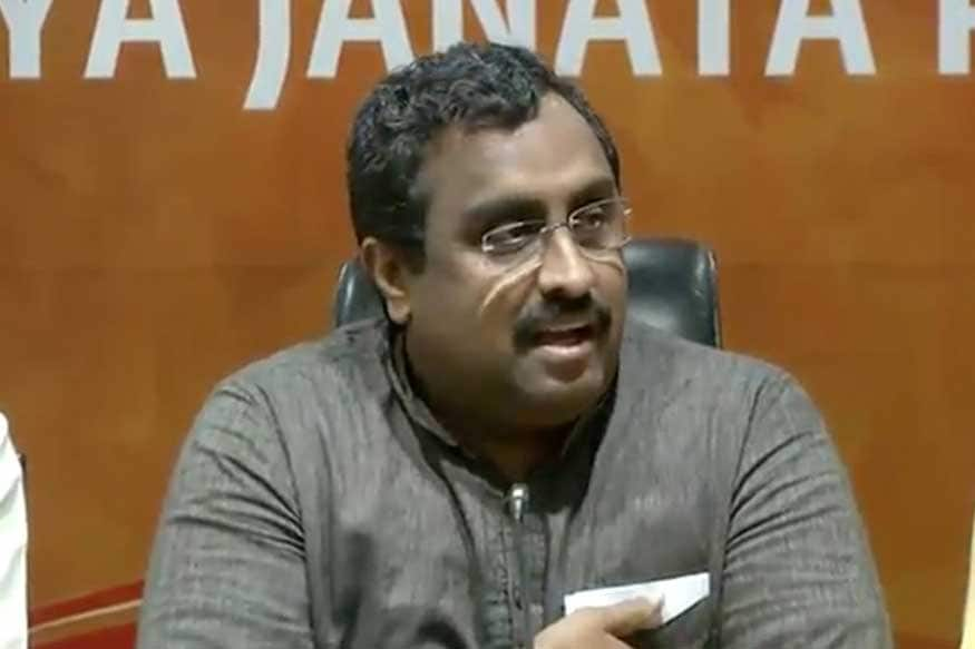 Detained J&K Leaders Inciting People to Pick Up Guns and Make a Sacrifice, Says BJP's Ram Madhav