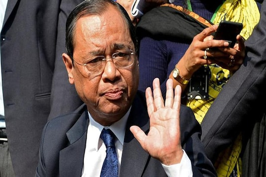 File photo of Justice Ranjan Gogoi. (Reuters)