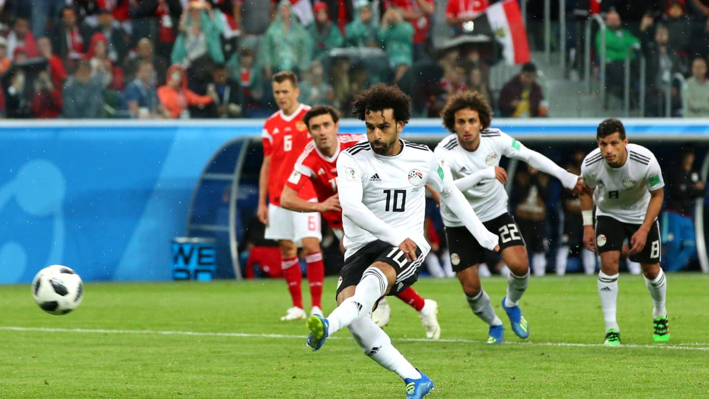 Mohamed Salah disappoints as Russian Federation  crush Egypt 3-1