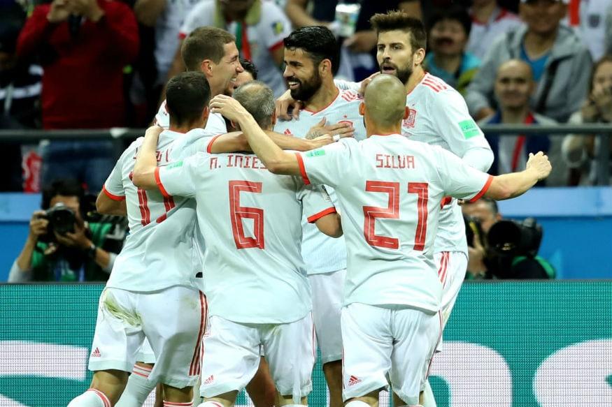 In Pics, FIFA World Cup 2018, Match 20, Spain vs Iran in Kazan
