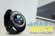 Zebronics Smart Time 200 Smartwatch With Camera Launched For Rs. 2999