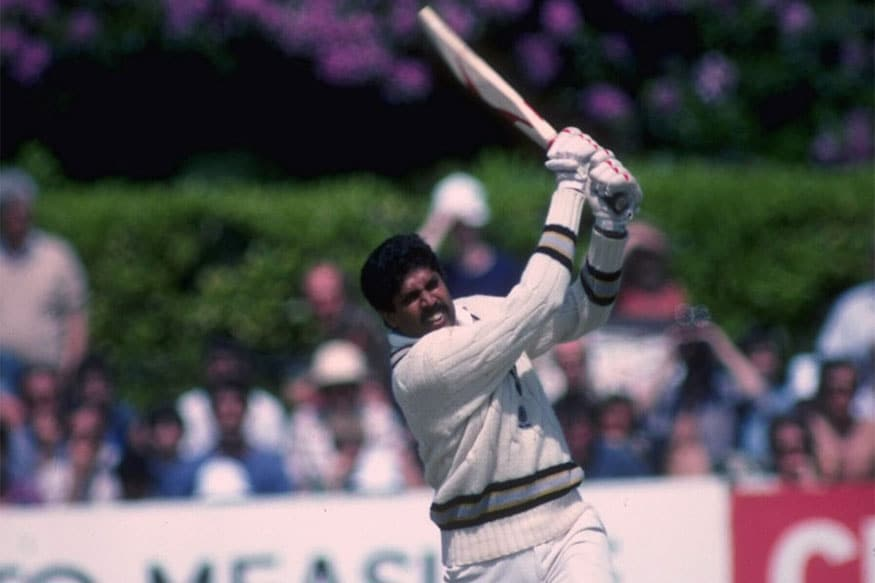 Kapil Dev in action. (Getty Images)