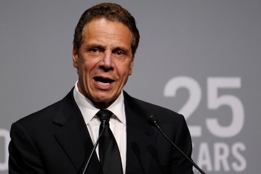 File photo of New York Governor Andrew Cuomo. (Image: Reuters)