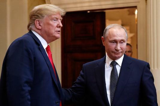 Donald Trump and Vladimir Putin.  (Image : AP)