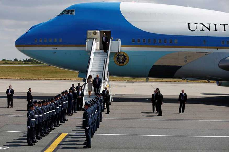 Donald Trump S India Visit Here S Why The Presidential Air Force