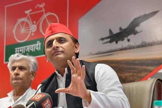 File photo of Samajwadi Party chief and  former UP CM Akhilesh Yadav (PTI)