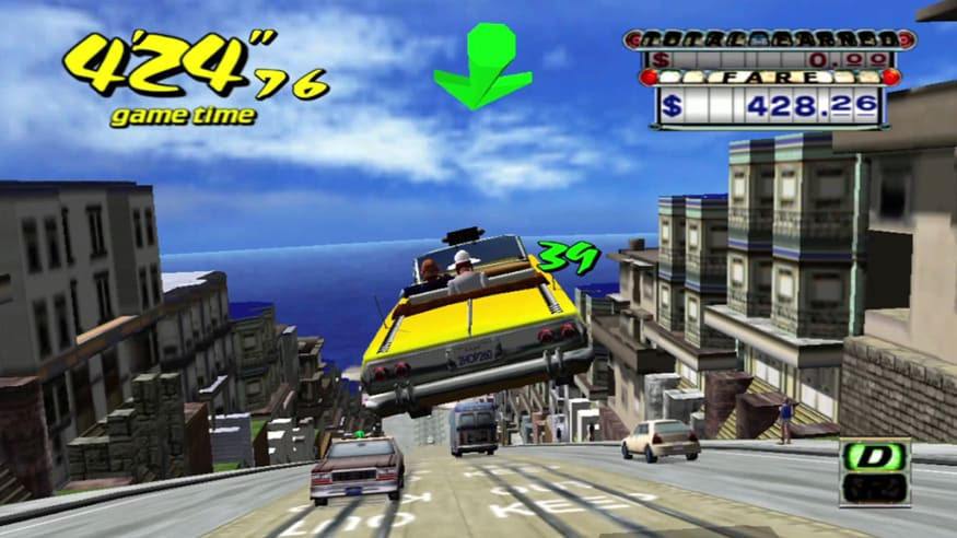 Crazy Taxi. (Image: Source)