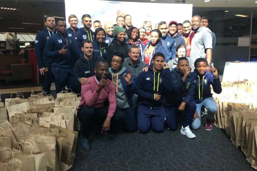 Cricket South Africa Commemorates Mandela Day 2018