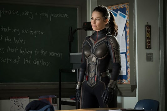 Evangeline Lilly in a scene from