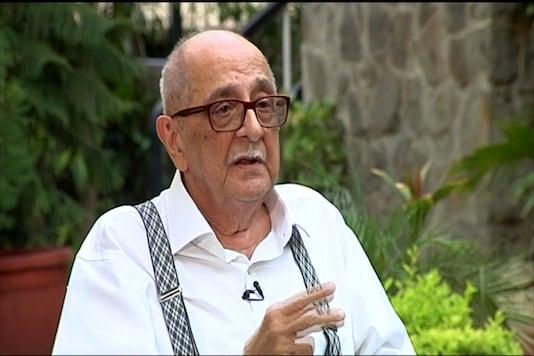Eminent jurist and senior Supreme Court lawyer  Fali S Nariman. (TV Grab/CNN-News18)