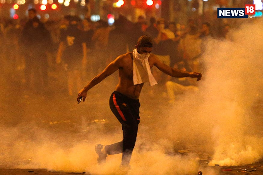 What Causes Football Riots: 2 Dead in France after FIFA WC Win