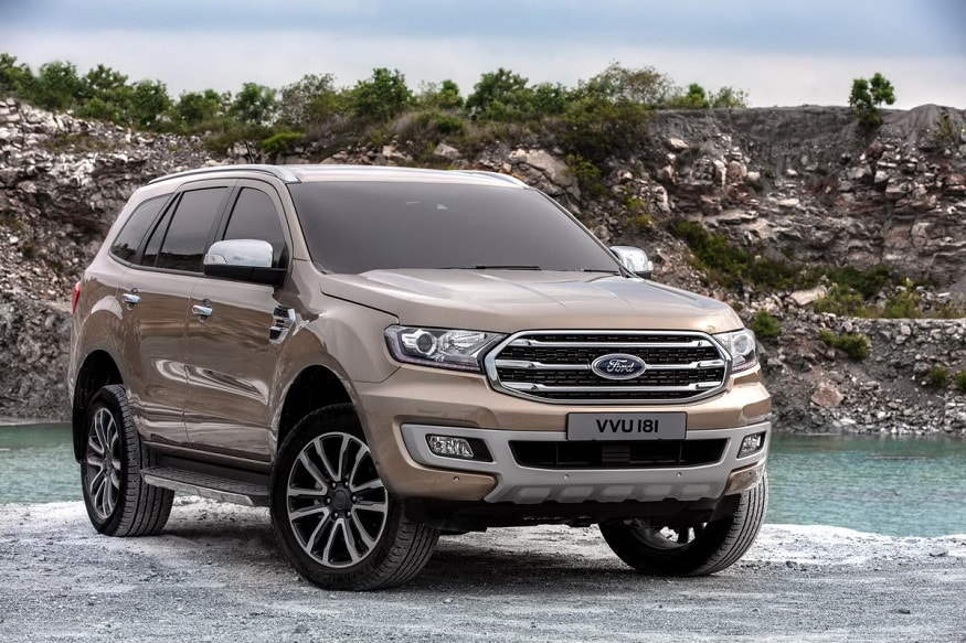 2018 Ford Endeavour Everest Suv Facelift Detailed Gallery