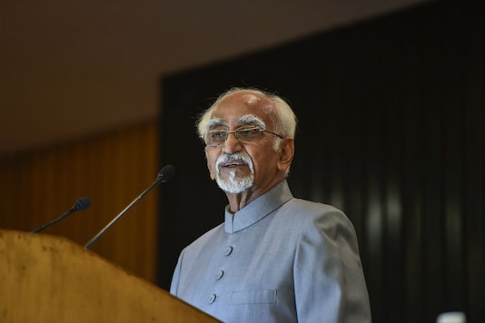 File photo of former Vice President Hamid Ansari.
