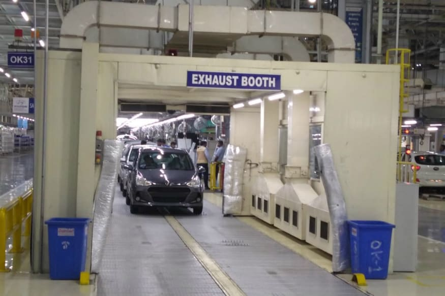 Hyundai's manufacturing plant. (Image: Hyundai)